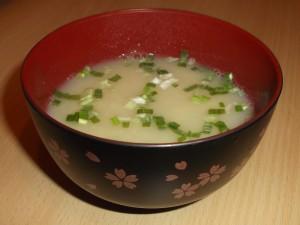 La soupe miso est un grand classique.