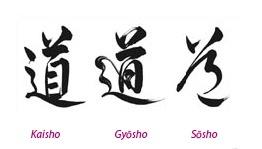 Style de tracé Kanji