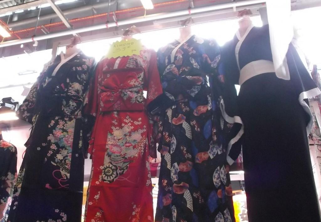 Faux kimono