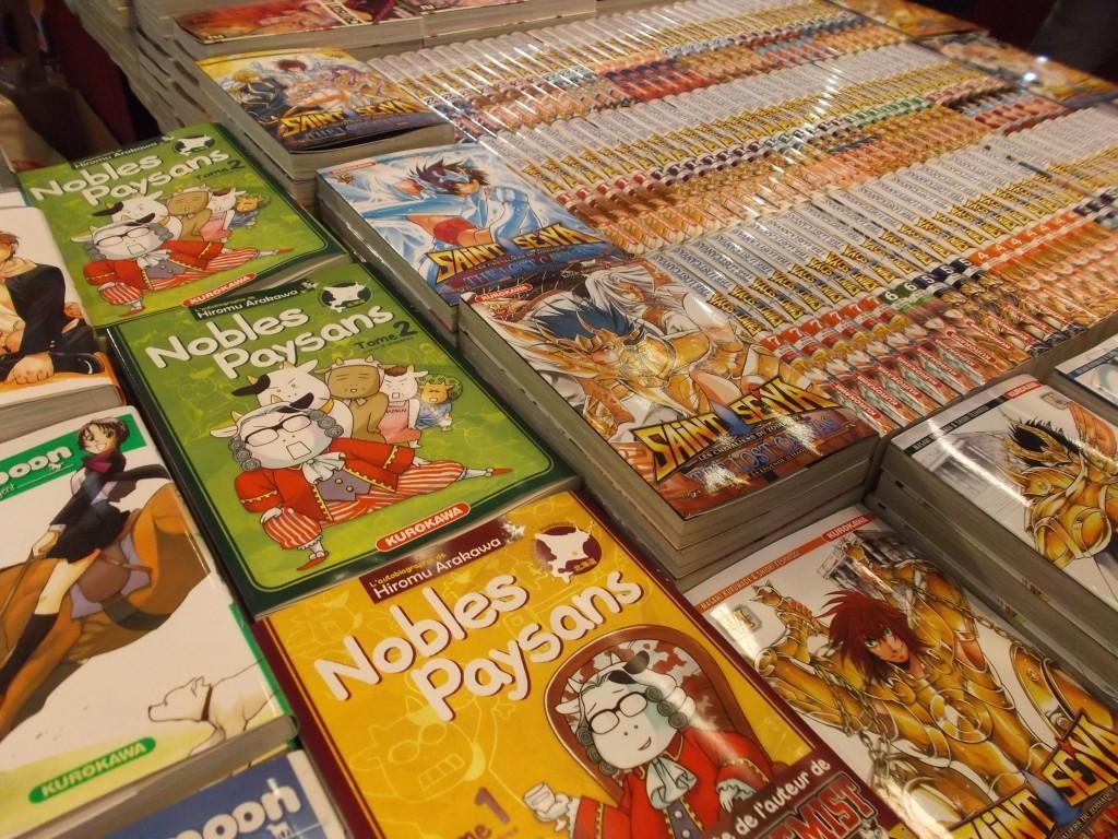 Acheter quelques manga