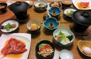 Repas tradi japonais