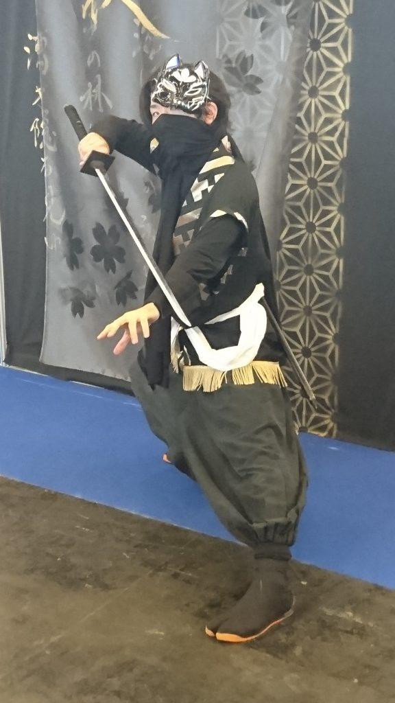 On croisait aussi quelques cosplay de ninja :)