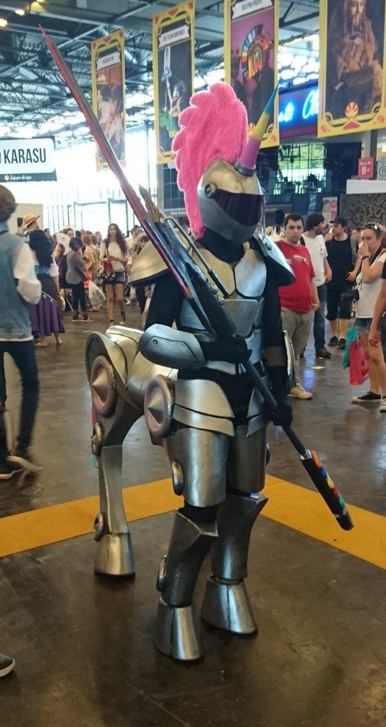 Encore un cosplay impressionnant techniquement