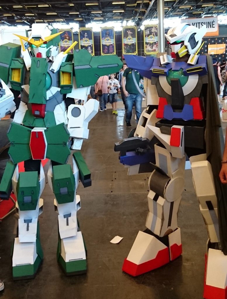 Cosplay Gundam