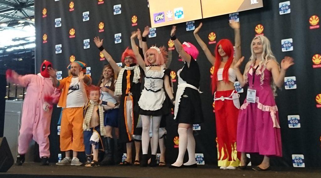La scéne Kitsune permettait de se présenter en groupe. Ici un groupe Fairy Tales