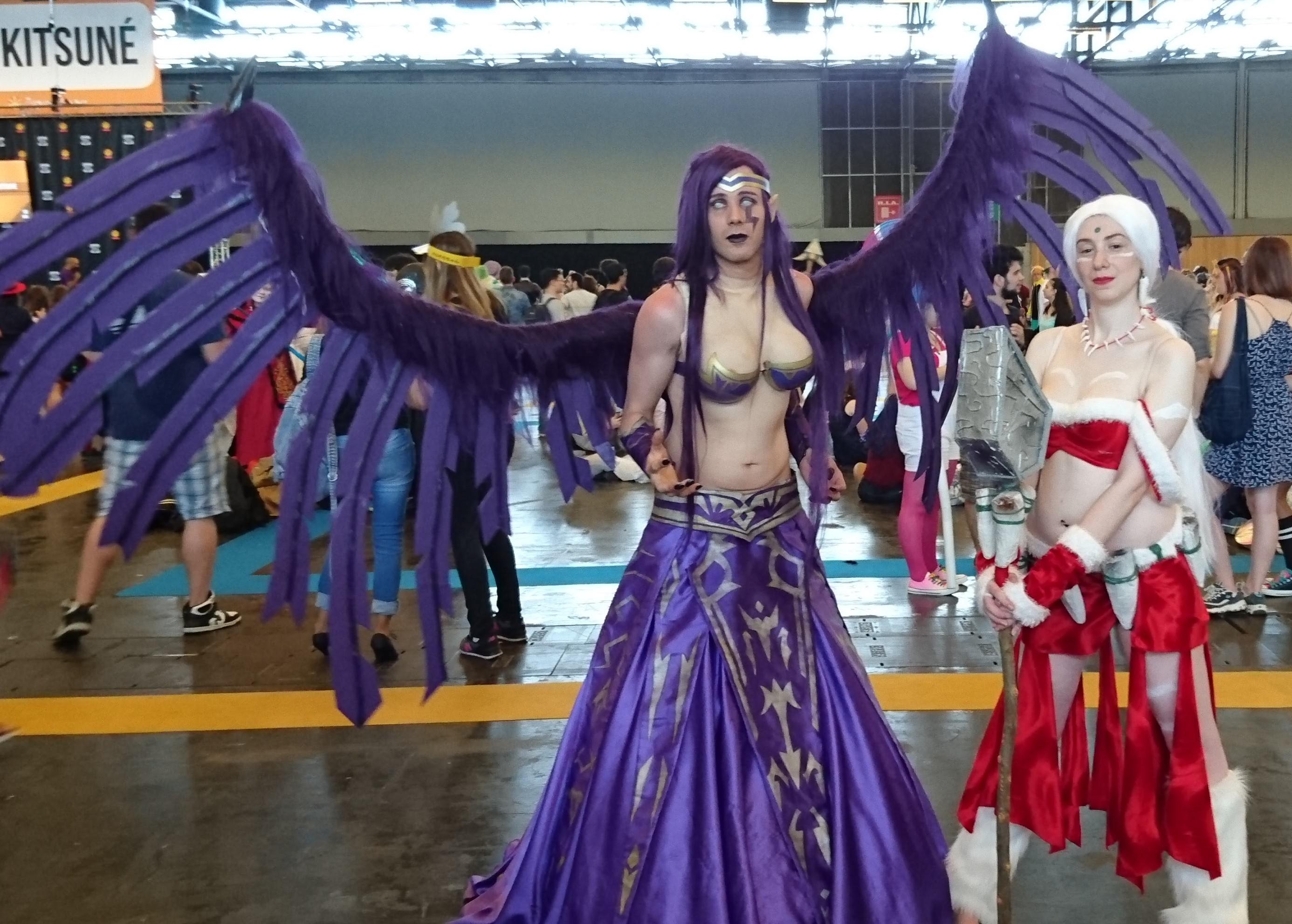 Japan expo cosplay 8 matcha et sakura - Japan expo paris 2017 ...