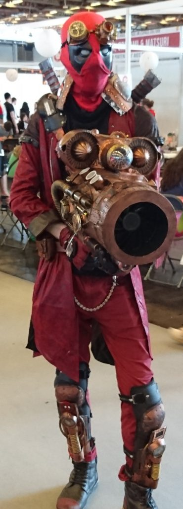 Un cosplay Deadpool version steampunk ! Génial !