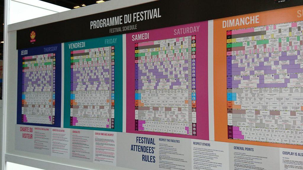Programme Japan Expo