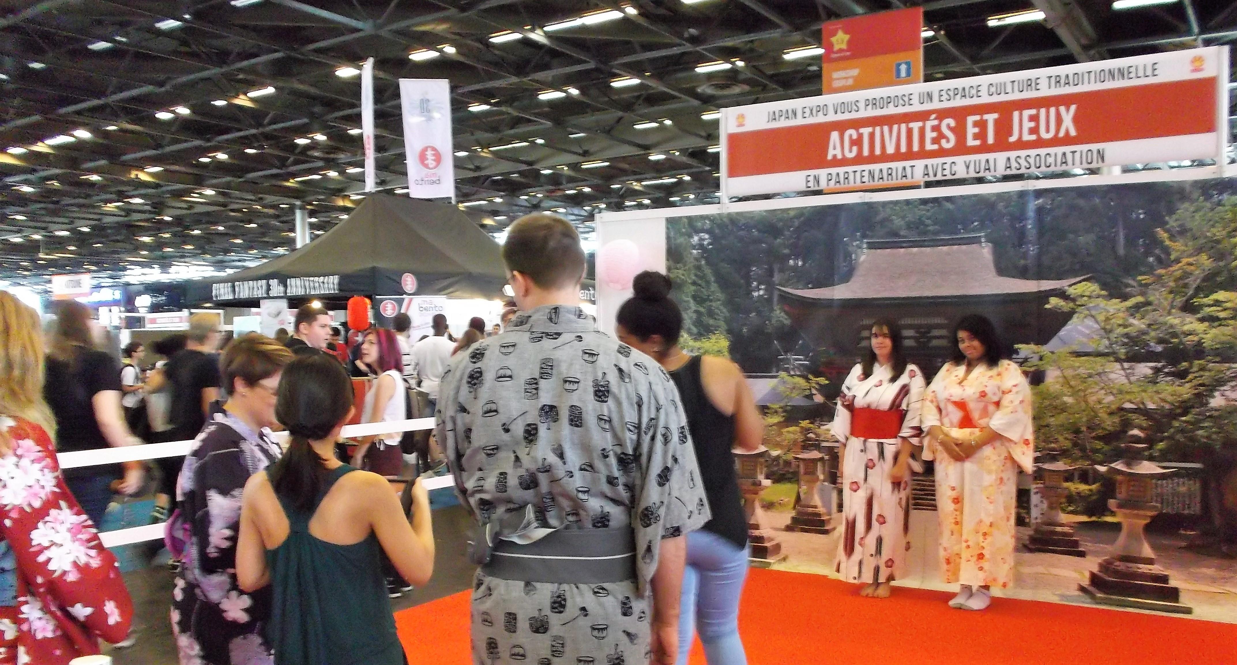 Japan Expo Les Stands : Le japon à paris matcha et sakura
